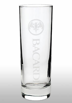 Bacardi Tall Glass New