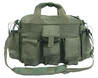 Tactical Utility RESPONSE BAG Shooter Range Bug Bail Out Gun Carrier OD Green