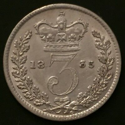 William IIII Threepence 1835