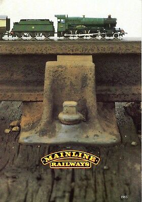 1983 Mainline Railways Catalogue of Locos & Rolling Stock - Exc New Old Stock