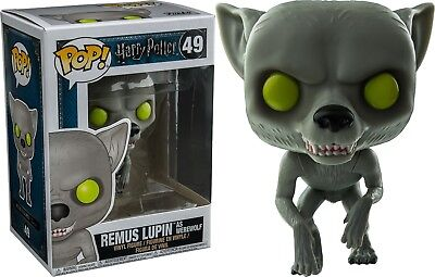 Funko Pop! Harry Potter - Remus Lupin as Werewolf #49 New 2017 Rare Exclusive