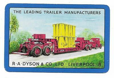 Dyson Trailer Advert X 1 Only Single Vintage Playing/swapcard