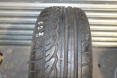 1 x Dunlop SP Sport 01 235 55 R17 Tyre 99V 7.5mm no repairs