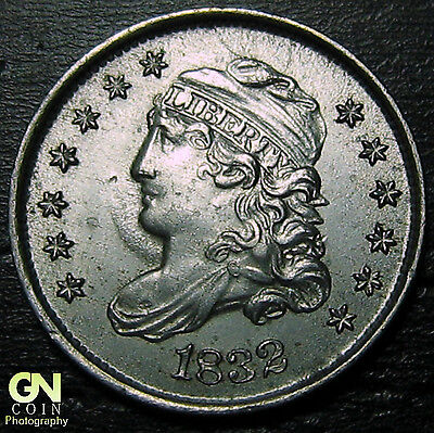 1832 Capped Bust Half Dime R4 LM4  --  MAKE US AN OFFER!  #O5703