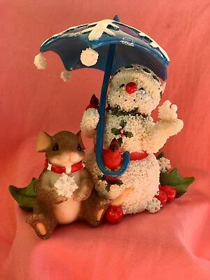 """Charming Tails - Mouse - """"Snow Showers"""" - NEW"""