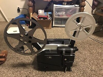 Elmo 16-cl Optical 16mm Film Projector - Tested and fully working