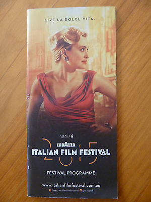 Movie /  Festival Programme..2015 Lavazza Italian Film Festival...god Willing