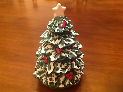 Vtg Berman and Anderson Musical Christmas Tree made in Japan music box