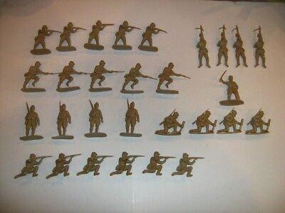 Airfix 1/32 Scale Vintage WWII Japanese Infantry Figures Complete Set