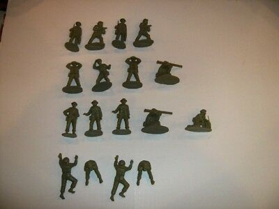 Airfix 1/32 Scale Vintage WWII British Infantry Support Group Figures