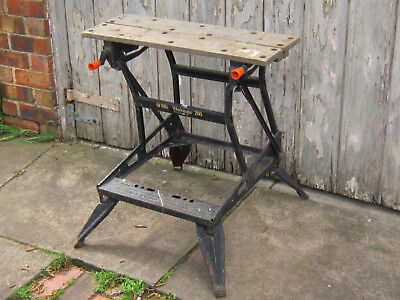 Black and Decker Workmate Folding Work bench Sawhorse can freight