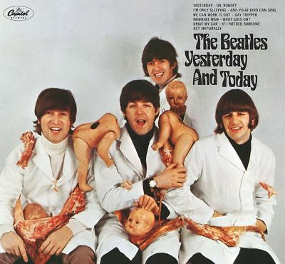The Beatles Yesterday And Today Vinyl LP Cover Butcher Babies Sticker or Magnet