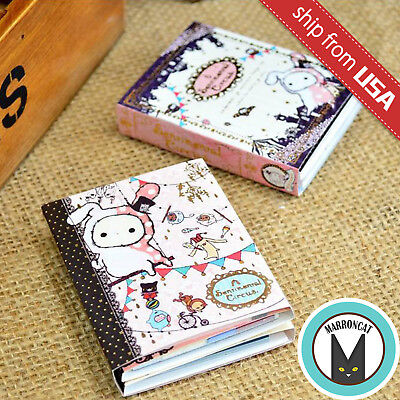 Lot 2 Cute Sentimental Circus Pink Rabbit Memo Note Pad Stationery Sticky Notes