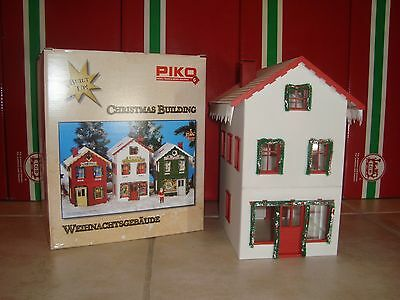 Piko 62712 Christmas G Scale North Pole Toy Workshop Assembled Model New In Box!