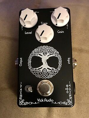 Vick Audio Tree of Life Overdrive Pedal Gently used- Absolutely Mint!!
