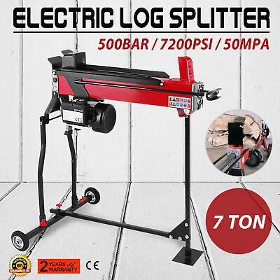 VEVOR 7 Ton Hydraulic Log Splitter 520mm Complete with Stand