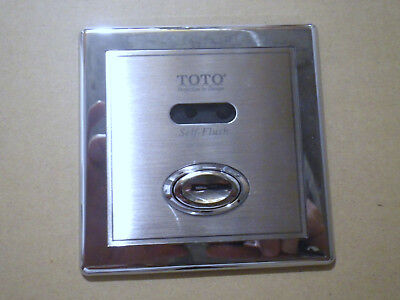 TOTO TET3ANSR-33 Automatic Flush Valve Concealed Small (Cover) STAINLESS STEEL