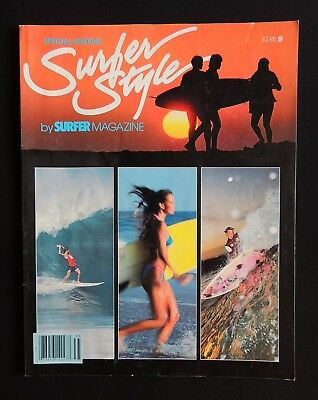 Surfer Style Magazine 1983 Special Edition Hawaii Surfer California
