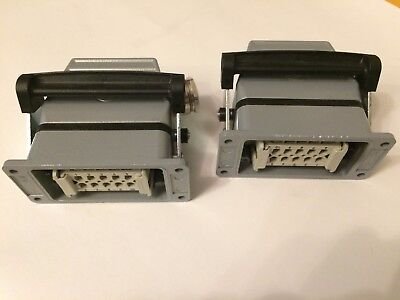 CONTACT / EPIC Connector Mated Set H-BVE3SS (10210010) + H-BVE3BS (10211010) x 2