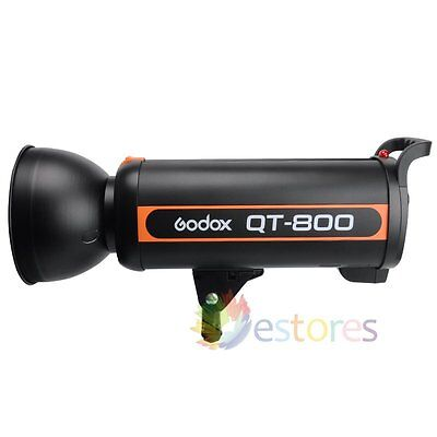 GODOX QT-800 800W Photography High Speed Studio Strobe Flash Light Head 220V