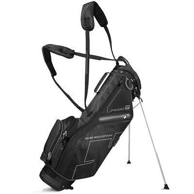Sun Mountain Front 9 Stand Bag Black