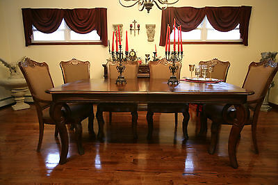 GOTHIC Bernhard Dining Room Set-Gothic Style-Solid & Heavy