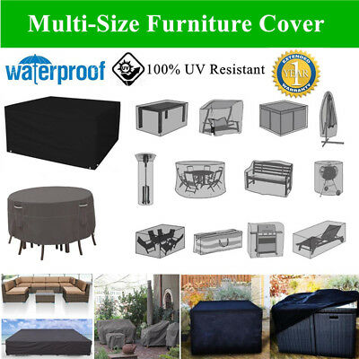9 Type Waterproof Outdoor Garden Furniture Table Chair Rain Cover Dust Protector
