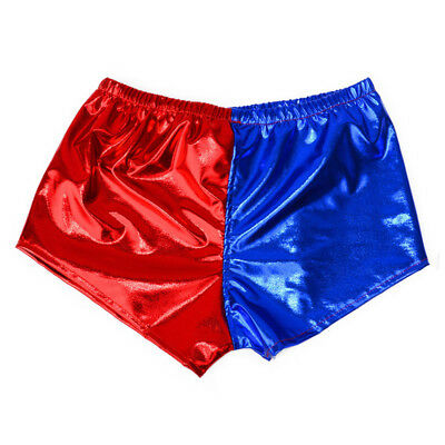 Suicide Squad Harley Quinn Shorts Hot Pants Kids Girls Cosplay Costume 4-8Years