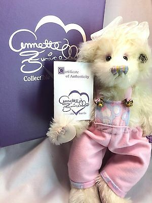 "Annette Funicello Barbara Cardwell LE 3000 Winnie 15"" Mohair Jointed Teddy Bear"