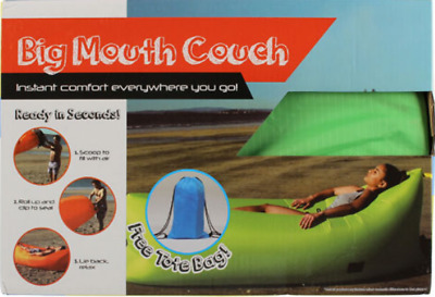 Big Mouth Couch plus Free Tote Bag