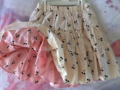 Rock Your Baby Reversible Skirt Size 3-5 New