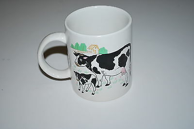 Collectible Cow Mug Cow with calf  - NICE!!!