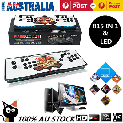 815 in 1 HD Games Arcade Console Machine 2 Joystick LED Box Pandora's Box 4S AU
