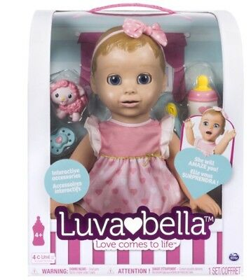 SOLD OUT! Brand new LUVABELLA BLONDE Baby Girl by Spinmaster~