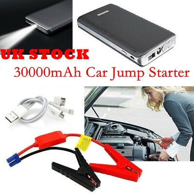 20000mAh Car Jump Starter Pack Portable Booster Charger Battery Power Bank UK