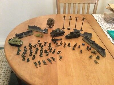 00 scale soldiers tanks Not Airfix