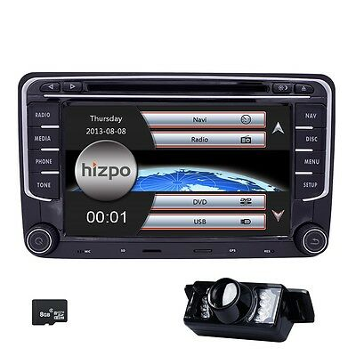 Car Dash DVD GPS Stereo Radio 4 VW Golf MK5 6 Polo EOS Skoda Jetta Passat Beetle