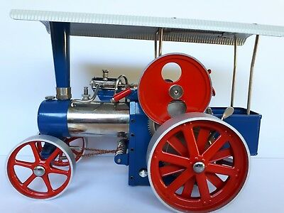 Wilesco D40 Traction  Steam Engine MINT CONDITION