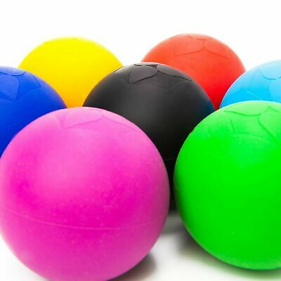 Lacrosse-Ball (6cm Ø) Faszienball Massageball Fitnessball Massage Faszien