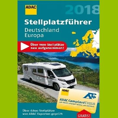 adac stellplatzf hrer 2018 deutschland europa stellplatz. Black Bedroom Furniture Sets. Home Design Ideas