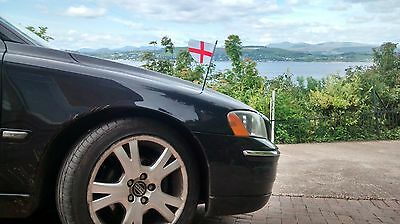 England Ambassador Car Flag with suction cup  UK/GB - 2 Flags