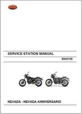 Moto Guzzi 750 Nevada & Nevada Anniversario Service Repair Manual 2012-14 (0130)