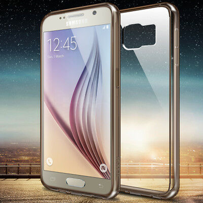 Slim Ultra Thin Acrylic+TPU Phone Case Cover For Samsung Galaxy S6 Accessories
