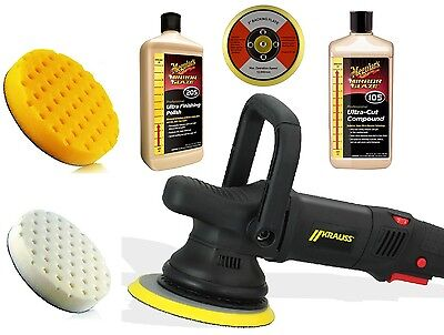 Kit Abrillantado Krauss S21 - Meguiar's - Lake Country Iridio 135 - 230V
