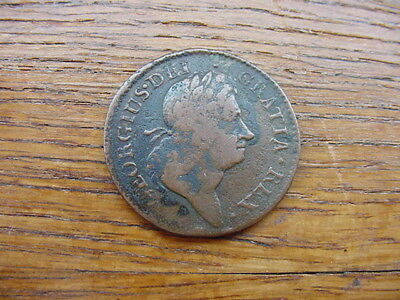1723-George 1st. 'Woods' Irish halfpenny.