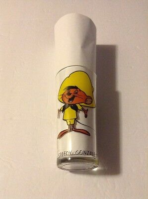 1973 Warner Bros Speedy Gonzales Pepsi Collector Series 6 1/4 Drinking Glass Nc