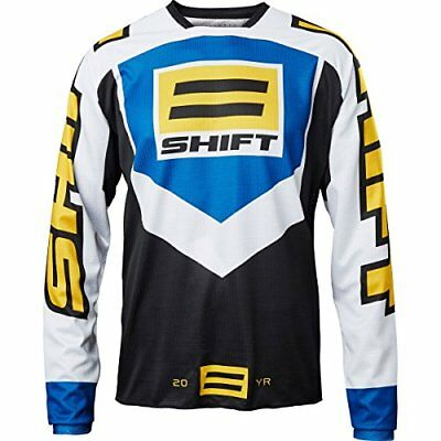 Shift Pecho tanque jersey whit320Year Throw Back Le, Black, tamaño L