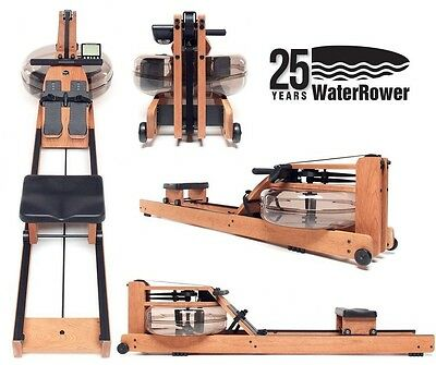 WATERROWER NATURAL SERIES WATER ROWER... with S4 MONITOR