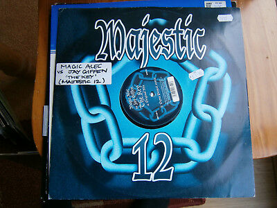Magic Alec Vs Jay Griffen - The Key - Majestic - 2003 -12inch-13