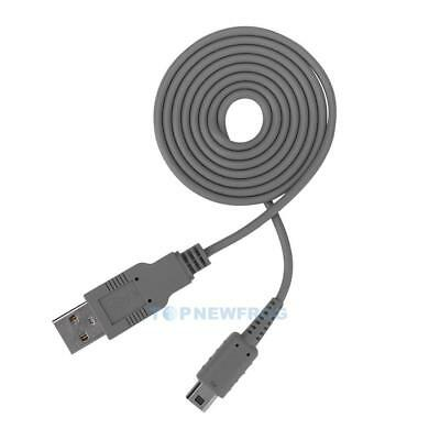 1 m USB Charging Cable for Nintendo Wii U Game Controller Gamepad TN2F